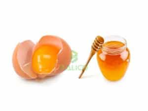 mật ong trứng gà