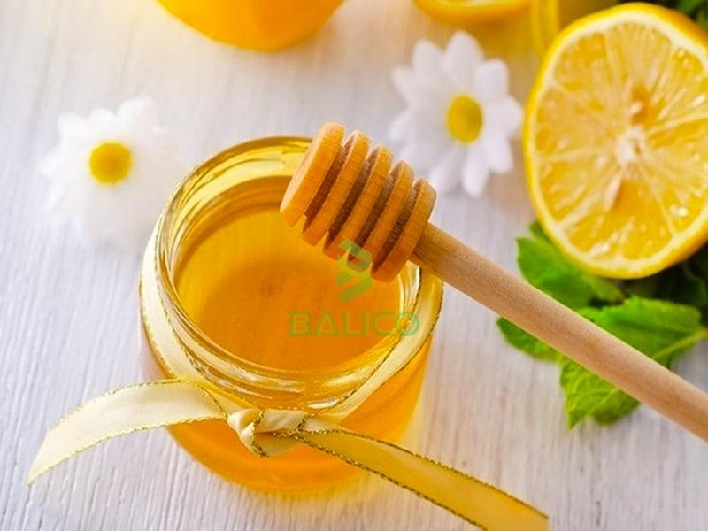 Chanh nóng mật ong