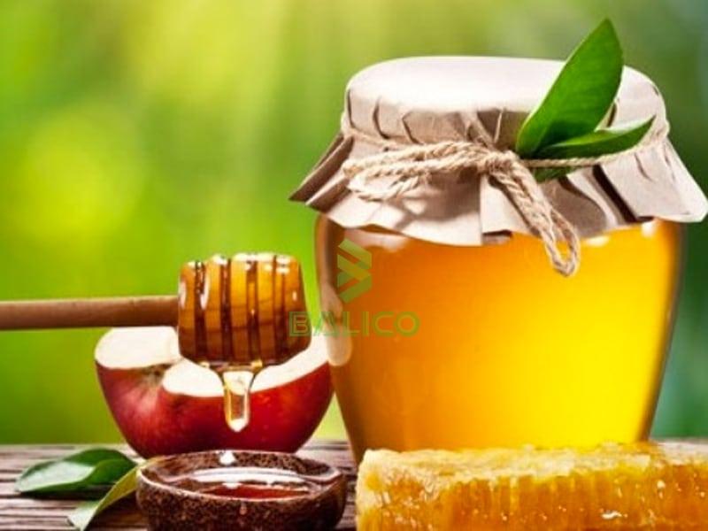 mật ong hấp lá hẹ