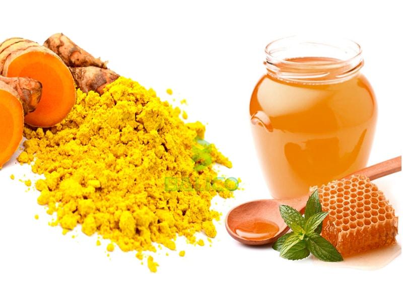 Tinh bột nghệ mật ong